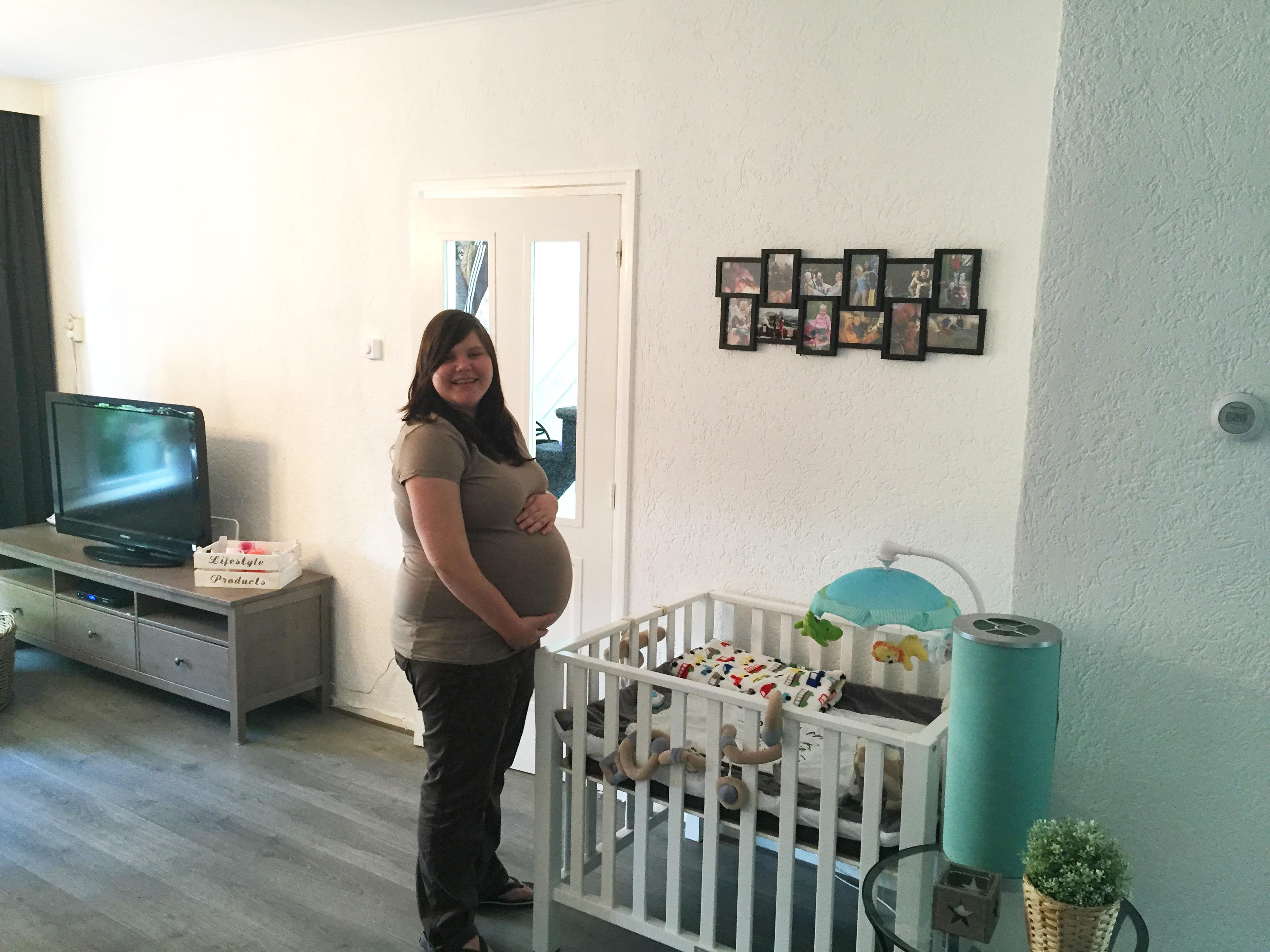 40.2 weken zwanger