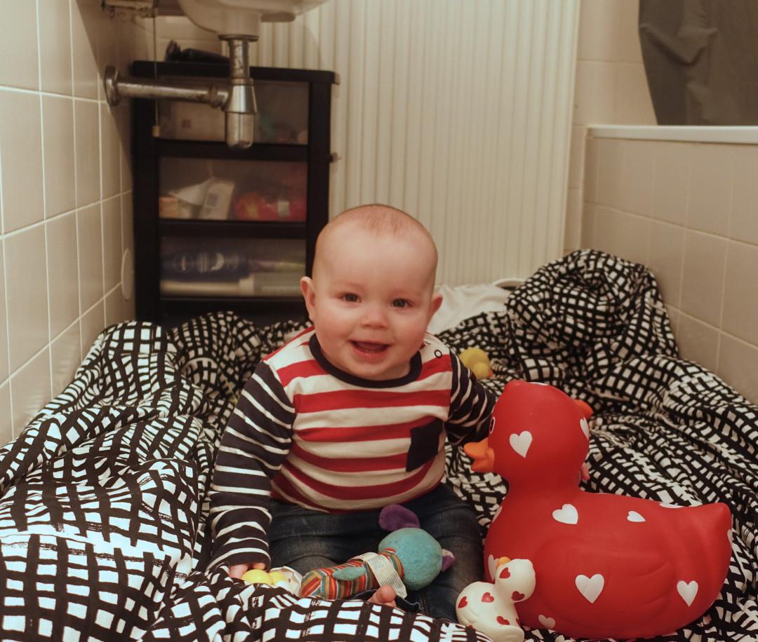 Huishouden met een baby