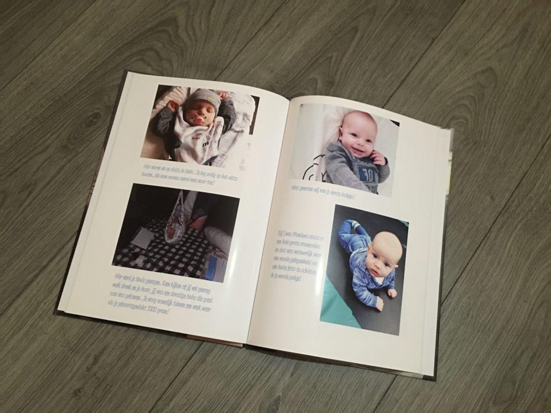 herinneringen in een fotoboek